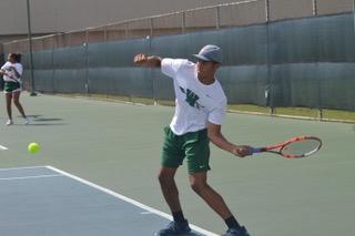 Varsity Tennis Takes Heat from Summit