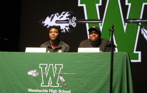 Two football players sign D1 Letters
