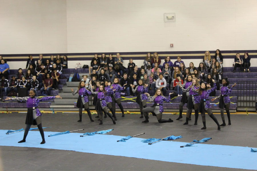 JV+Winter+Guard+rolls+to+Grand+Championships