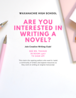 Creative Writing Club