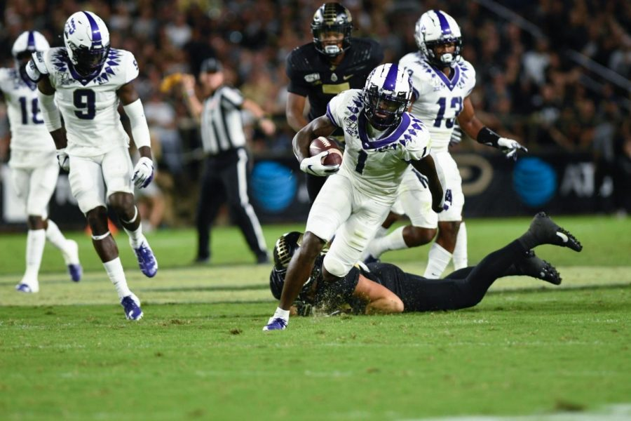 Former+WHS+wide+receiver+Jalen+Reagor+%281%29+in+TCU%27s+win+over+Purdue+on+Sept.+14%2C+2019.