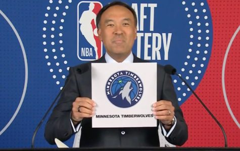 Timberwolves win draft lottery and the number 1 pick