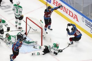 Ben Bishop returns to the net but Avalanche takes advantage