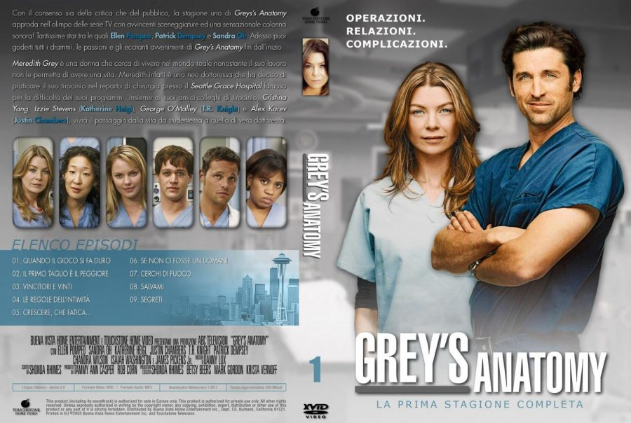 All new season of Grey's Anatomy