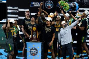 Baylor Routes Gonzaga On the Way to Their First NCAA Championship.
